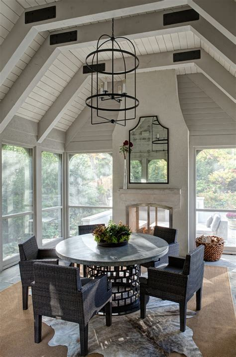 screened porch with fireplace interior design ideas home bunch interior design ideas