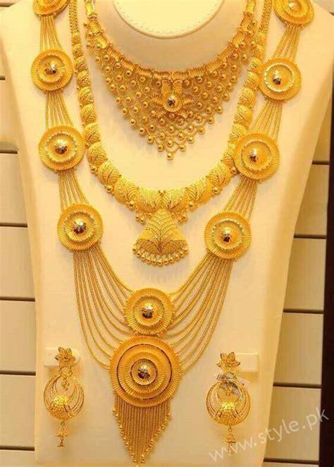 stylish bridal necklace sets  wedding jewelry  brides
