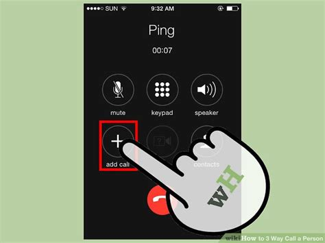 3 way calling on iphone 5 easy ways to 3 way call a person with pictures