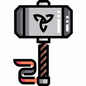 Thor hammer - Free construction and tools icons