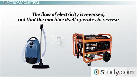 Electric Motor And Electric Generator by Electric Motors Generators Converting Between