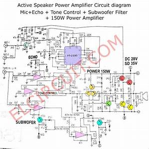 Active Speaker Power Amplifier