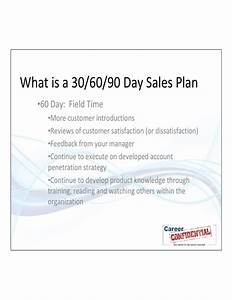 30 60 90 day sales plan free download With free 30 60 90 day sales plan template download