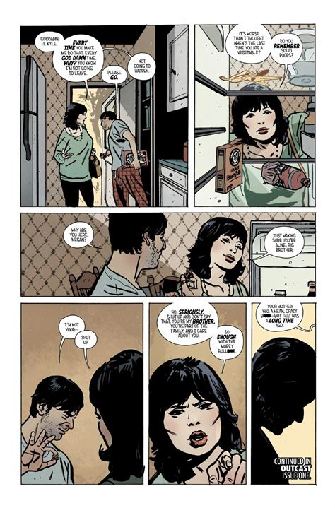 Outcast Image Comics Preview Outcast 1 The New Horror Series By The Walking