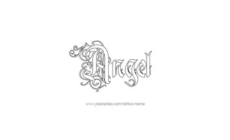 Neck Tattoos Men Names angel  tattoo designs 1011 x 616 · png