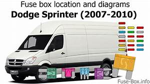Fuse Box Location And Diagrams  Dodge Sprinter  2007-2010