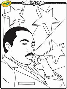 Martin Luther King Jr Coloring Page Crayolacom