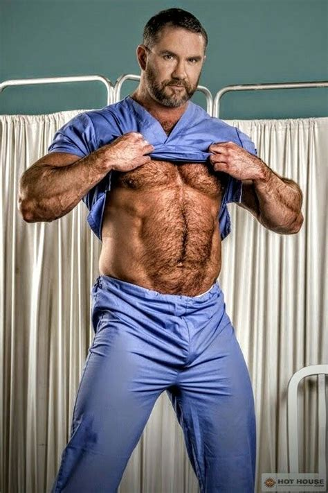Doctor With Hairy Muscles Men Pinterest Homme Muscle