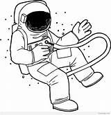 Astronaut Coloring Drawing Astronauts Printable Roald Space Getdrawings Clipart Drawings Kleurplaten Personal Clipartmag Bfg sketch template