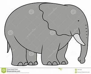 Big Elephant stock illustration. Illustration of art ...