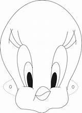 Printable Mask Template Masks Bird Tweety Clipart Coloring Goalie Cliparts Clip Templates Face Grandma Hockey Gras Mardi Kid Emoji Ice sketch template