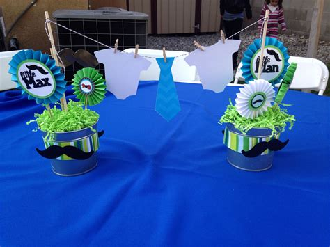 baby shower lil man baby shower centerpieces bow tie