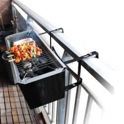 balcony bbq mounts on railings craziest gadgets