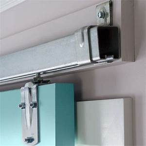 Exterior sliding barn door hardware myfavoriteheadache for Kitchen cabinets lowes with hanging heavy wall art