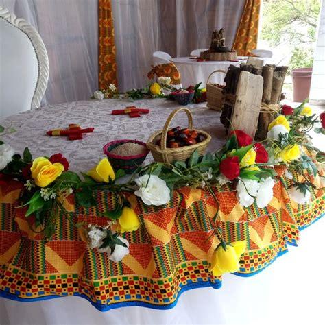 mariage dote decoration ivoirien  touticreation de