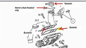 Replacing Supercharger C230 Kompressor 2002