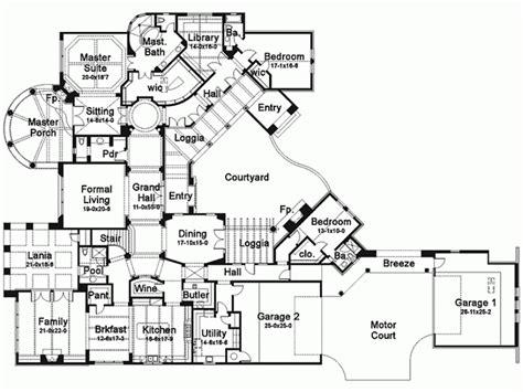 house plans 6 bedrooms eplans mediterranean house plan six bedroom 7752