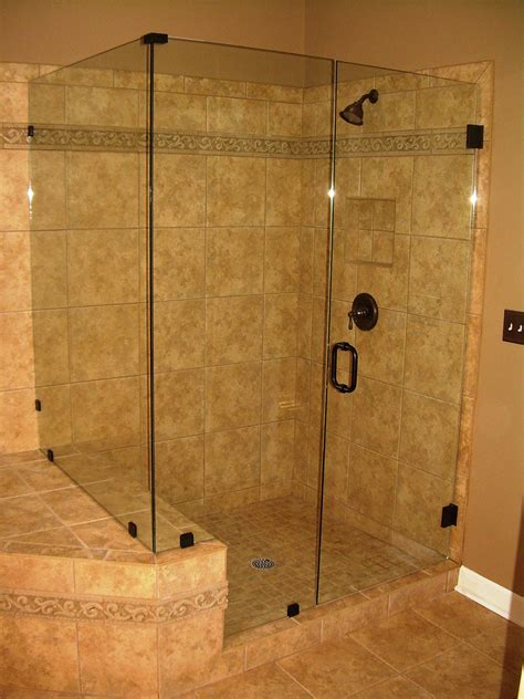 bathroom glass shower ideas frameless shower doors lewis glass company