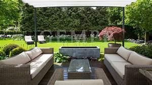 Gartenplanung Gartengestaltung Bildergalerie : stadthaus garten mit loungebereich und terrasen berdachung gartengestaltung hamburg gempp ~ Watch28wear.com Haus und Dekorationen
