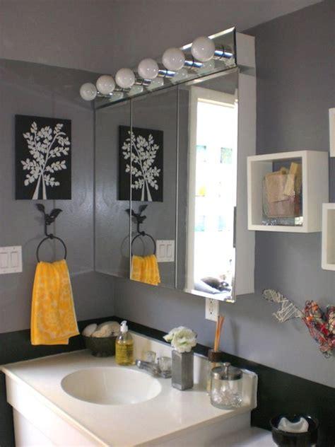 yellow grey bathroom decor bathrooms bathroom grey gray yellow black my