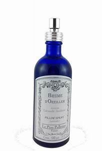 Brume D Oreiller : le p re pelletier brume d 39 oreiller lavande ambr e 100ml 11 75 ~ Teatrodelosmanantiales.com Idées de Décoration