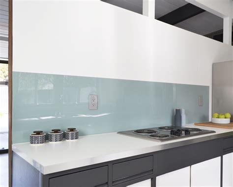 acrylic backsplash install fogmodern