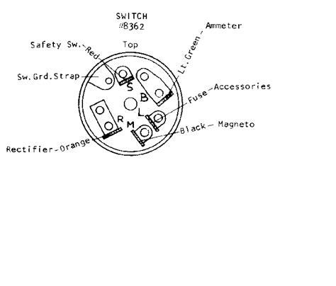 ignition switch     wheel horse toro tractor forum gttalk