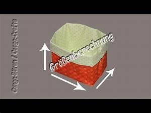 Utensilo Berechnen : gr enberechnung utensilo stoffbeh lter size calculation fabric box youtube ~ Themetempest.com Abrechnung