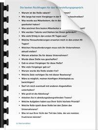 vorstellungsgespraech tipps fragen checklisten