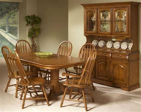Oak Dining Set by Intercon Solid Oak Trestle Dining Set Classic Oak Incoi4296set