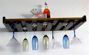 Wall Mounted Wine Racks And Glass Holder Design Ideas To ...