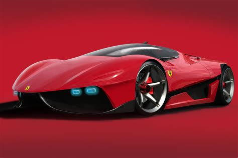 ferrari ego concept study for the man who has everything