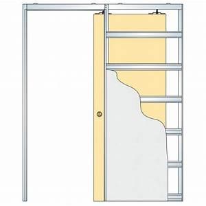 Eclisse Sliding Glass Pocket Door System - Single Door Kit ...