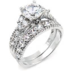 pretty wedding rings beautiful bridal cubic zirconia engagement rings