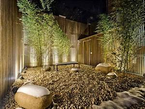 maison avec un design interieur asiatique et contemporain With maison avec jardin interieur