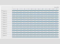 Large Data Sets JavaScript Scheduler DayPilot for