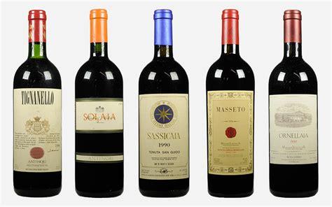 Best Italian Wines Tuscans Five Superstars That Changed Italian Wine