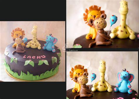 Animal Theme Birthday Cakes
