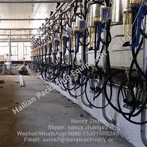 China Farm Flow Milk Meter Herringbone Milking Machine  U0026 Milking System With Scale