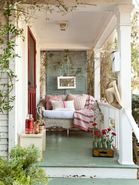Cottage Porch by Front Porch Decorating Ideas Diy Cozy Cottage