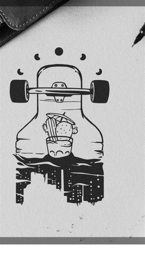 Skateboard Drawing Tumblr at PaintingValley.com | Explore collection of Skateboard Drawing Tumblr