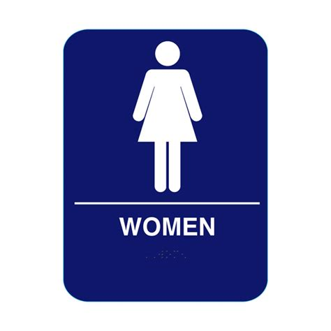 in wall medicine cabinets restroom sign with braille blue cr w68