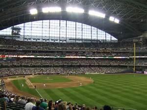 Brewers Stadium Seating Chart Miller Park Milwaukee Brewers Ballpark Ballparks Of