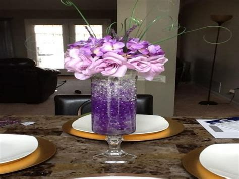 rustic buffet table red and purple wedding centerpieces