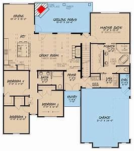 European House Plan With Bonus Room