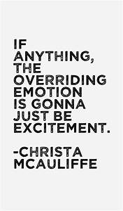 Christa McAuliffe Quotes & Sayings (Page 2)