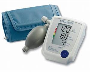 A U0026d Lifesource Advanced Manual Inflate Blood Pressure