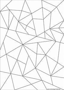 Mosaik, Ausmalbild
