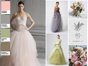 pastel wedding dresses pantone wedding styleboard the With pastel color dress for wedding