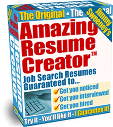 Amazing Resume Creator Reviews by New Amazing Resumes Digital Products Only For Americans